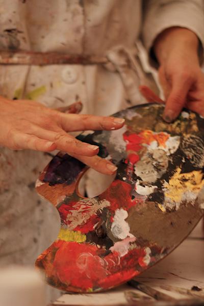 artiste peintre contemporain nathalie perie